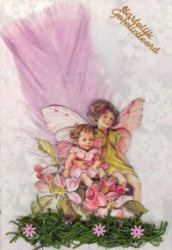 Flower Fairy kaartje