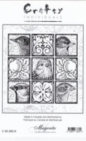 Feathered Faces Tile