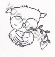 Sweetheart Owl With Heart