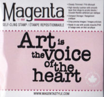 Art Is The Voice Of The Heart