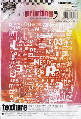 Collage Lettres et Chiffres