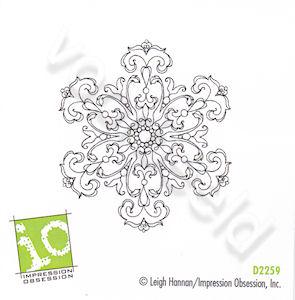 Damask Snowflake small