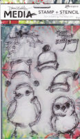Scribbly Holiday Birdies