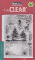 Vintage Wishes Stamp
