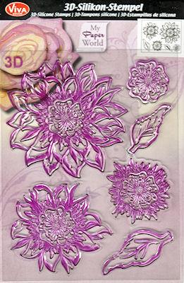 3D Flower Amelie 3D Blute