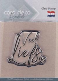 Card Deco - Veel Liefs