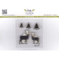 Deer + Christmas trees SR 211