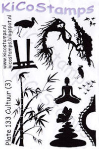 Kiko Stamps - Plate 133 Cultuur