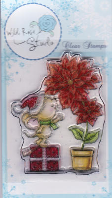 Mouse and Poinsettia