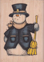 Old Fashioned Snowman