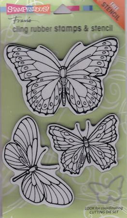 Pen Pattern Butterflies