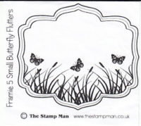 The Stampman - Framie 5 Small Butterfly Flutters