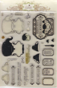 Waltzing Mouse Stamps - Afternoon Tea