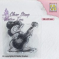 wt - Snowman with Guitar