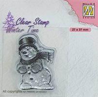 wt - Snowman with Top Hat