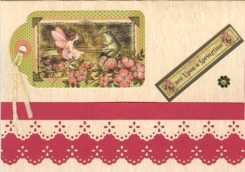 Martha Stewart Pons Eyelet Lace