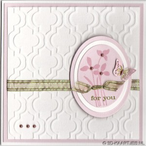 a1002 - stempel Just Believe en embosfolder Royalty