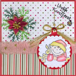 k608 - Scrap - Stempel Elines Toddlers