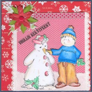k643 - Ollyfant Stamps - Derwent gekleurd