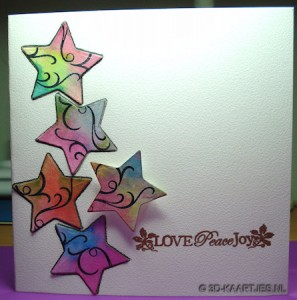 Tekst Stempel Turtle Dove en Merriest Wishes, Nesting Dies xcu503000