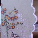 Stempel Jofy 14 en Papillon Potpourri, stencil cubist, Crea-Nest-Lies XXL 3
