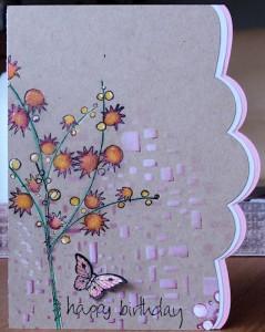 a1218 - Stempel Jofy 14 en Papillon Potpourri, stencil cubist, Crea-Nest-Lies XXL 3