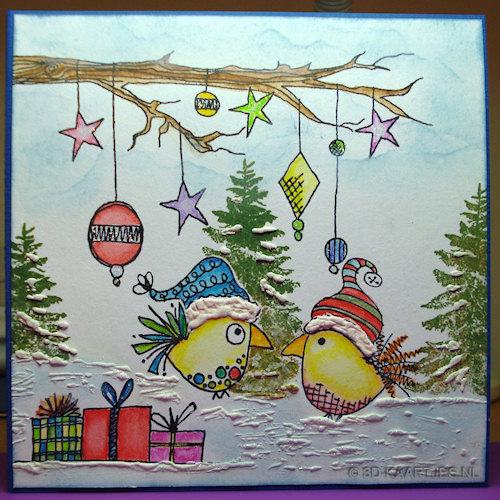 Stempelsets Lovebirds, Jofy 19, Turtle Dove en Create Your Own Snowman