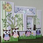 tri-shutterkaart met Owl Builder