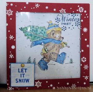 Christmas Ted van Penny Black