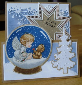 Ster Creatable LR0369 Star XL, boompje Creatables LR0136, ijssterren memorybox frostyville Border.