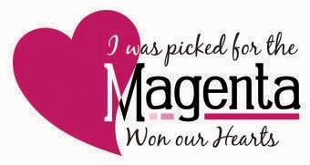 Magenta: won our hearts November