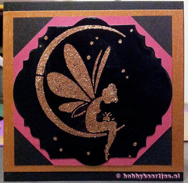 Stencil - Fairy Moon