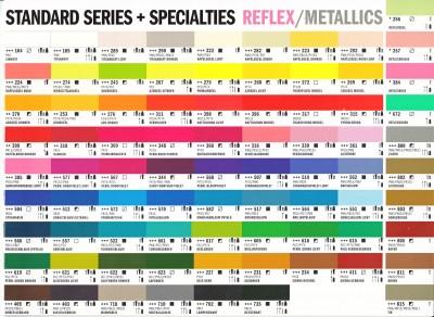kleurkaart Amsterdam Standard Serie