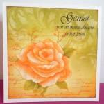 Stamping corner roos Gemaakt door Mariëtte
