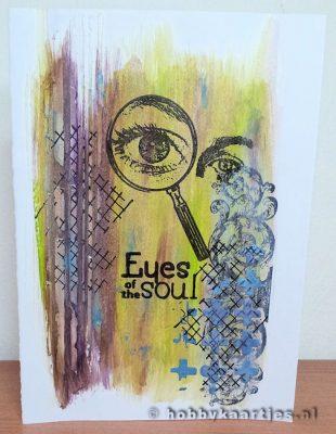 art journey eyes of the soul