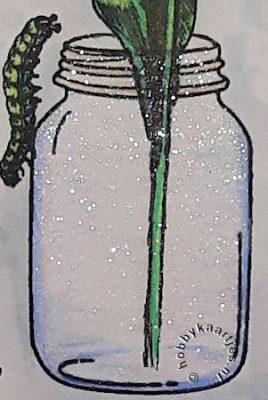 Gummiapan - Glasburk