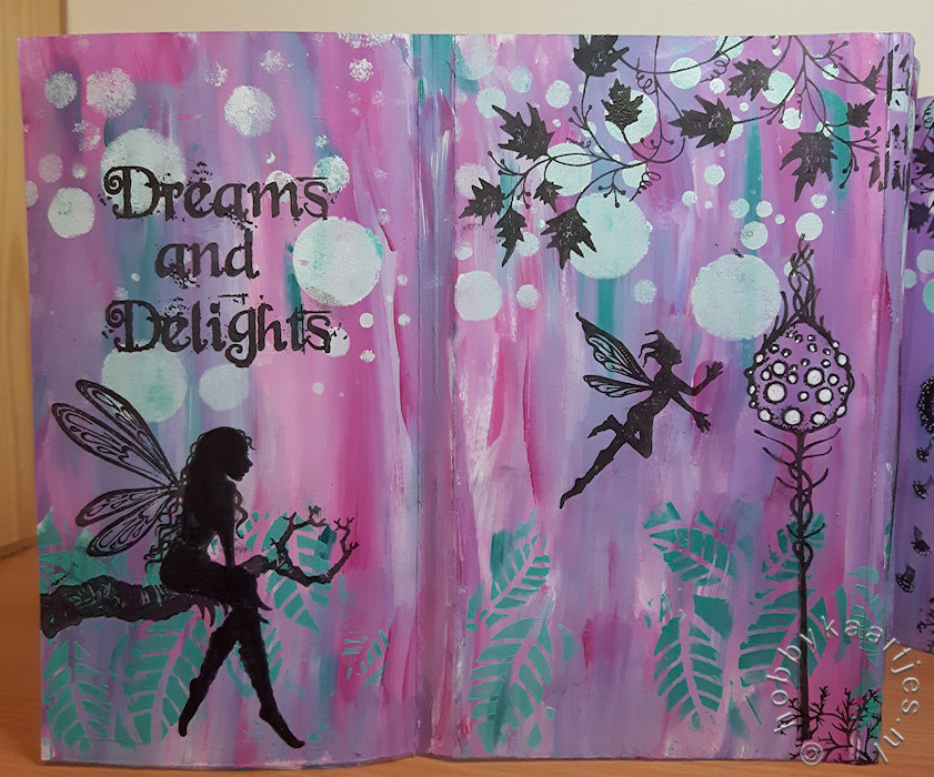 Buitenkant 1 boekje Lavinia Dreams and Delights