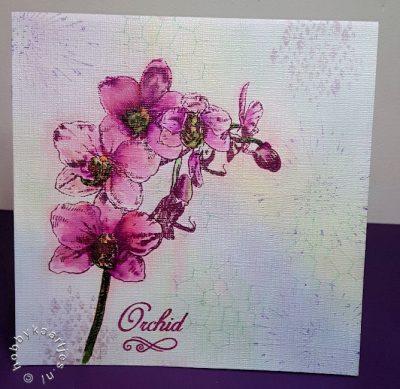 Orchid stempel SL132