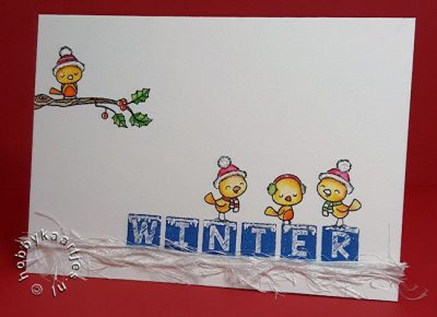 Word Critters Winter Birds