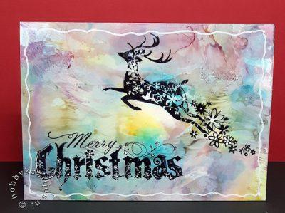 inkadinkado Christmas Silhouettes