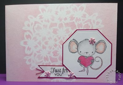 Purple Onion - Heartfelt Mouse With Heart