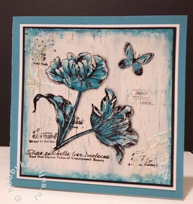 Tulips stempel van Art Journey