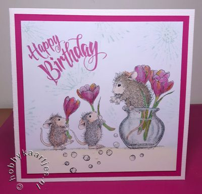 House Mouse Flower Arranging