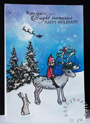 Belle & Boo - Christmas Reindeer