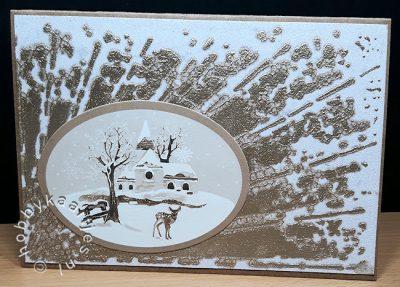 Memory Box Stencil Shine 88505