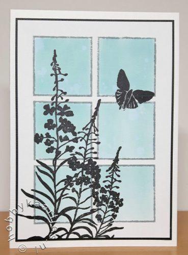 Silhouette Wildflowers