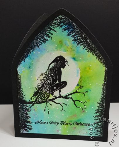Raven Fairy en Fir Tree