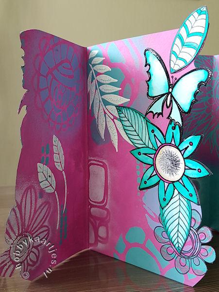 Paper Artsy Fresco Finish Chalk en Paper Artsy Stempels