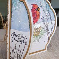 Cardinal Christmas - voorflapje