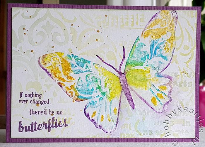 Unity Bold Butterfly